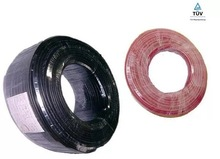 2.5mm2 Solar cable/Solar wire for PV solar panel, black and red color