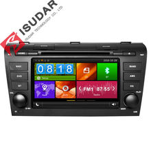 Two Din 7 Inch Car DVD Player For MAZDA 3 2004-2009 With Canbus 3G Host Radio GPS Navigation RDS Bluetooth 1080P Free Maps