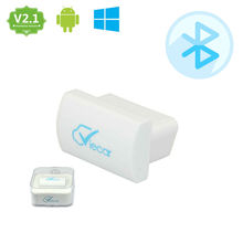 Super mini Viecar 2.0 white elm 327 v2.1 Bluetooth OBDII Diagnostic Tool elm327 Bluetooth obd2 adapter Works On Android/Windows
