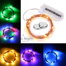 Magicnight Firefly String Starry Light Warm White Micro LED Battery Operated  for Home Decor Included Battery