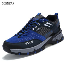 GOMNEAR New Product HIking shoes Outdoor hunting cross country sport shoes wear-resisting antisking breathable camping sneakers(China)