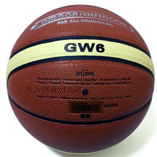 Offical Standard Size 6 Molten Women Basketball Balls GW6 High Quality PU Leather Outdoor Indoor Basketball Ball with Pin+NetBag