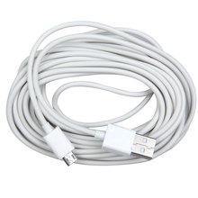 5M Micro USB Charging Data Cable Adapter for Samsung White  DY-fly