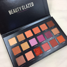 Beauty Glazed 18 Color In 1 Shimmer Matte Makeup Palette Eyeshadow Professional Brand Make Up Maquillage Eye Shadow Palette