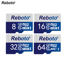 Blue Memory Card 64GB Class10 UHS1 Flash Micro SD 32GB class6 Micro sd card TF Card 16gb 8GB 4GB for Smartphone Camera(China)