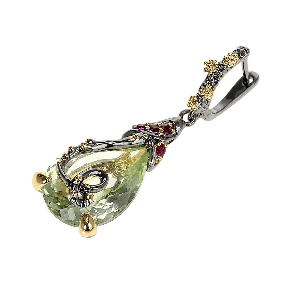 WE3876 vintage zirconia earrings drop earings gothic jewelry (3)