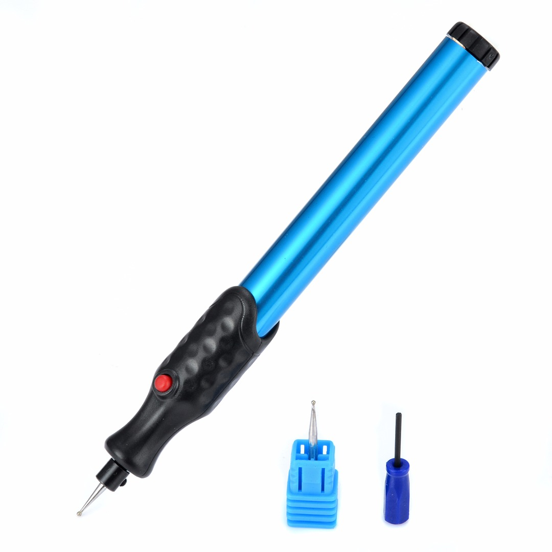 23000RPM Engraver Micro Electric Engraver 160*15*15mm Engraving Pen Carve Tool For Jewellery Metal Glass Wood