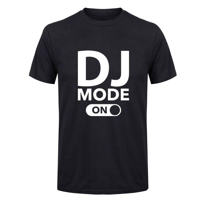 2017 new Brand Men T-shirt DJ Mode On T Shirts Men 100% Cotton Funny Design Print Men T-shirt Homme Camisetas Hip Hop tshirt Men