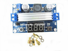 new 1pcs 100W DC DC-DC 3~35V to 3.5~35V LTC1871 Booster step up  module Converter Regulated Power Supply+VoltMeter