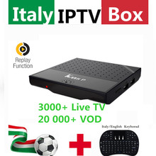 Super Italy IPTV KM8P Smart TV Box 3000+Albanian Turkey UK German USA IPTV Adult Hotclub channels Smart KOBY Android  6.0 TV Box