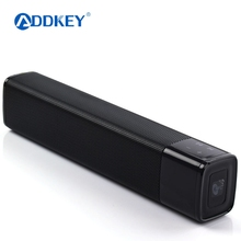 Portable 20w Wireless Bluetooth Speaker Soundbar Super Bass Stereo Loudspeaker with Touch NFC Speakers for Phone TV(China)