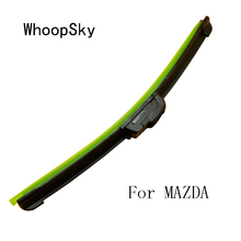 Car Style Universal U-type Car Windshield Soft Frameless Bracketless Rubber Wiper Blade Brush for MAZDA 2 3 5 6 8 MX5 CX7