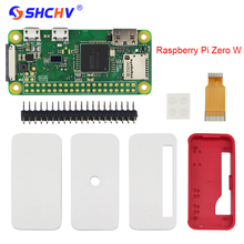 Raspberry Pi Zero W Starter Kit 5MP Camera + Official Case + Heat Sink + GPIO Header for Raspberry Pi Zero 1.3(China)