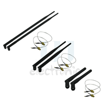 2  2dBi + 2 6dBi + 2 9dBi RP-SMA Antennas + 2  12in U.fl cables for WiFi Linksys Routers EA2700