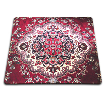 Professional Custom Products Sell Like Hot Cakes Personality Persian Carpet Wheel Mouse Pad 180*220mm 200*250mm or 250*290mm