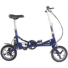 12 inch bike women Folding Bicycle Road mini Bike for child Design 1 piece DIY Suspension frame(China)