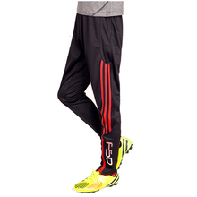 Jogger Pants Football Training pants 2017 Soccer Pants Active Jogging Trousers Sport Running Track GYM clothing Men's Sweatpant