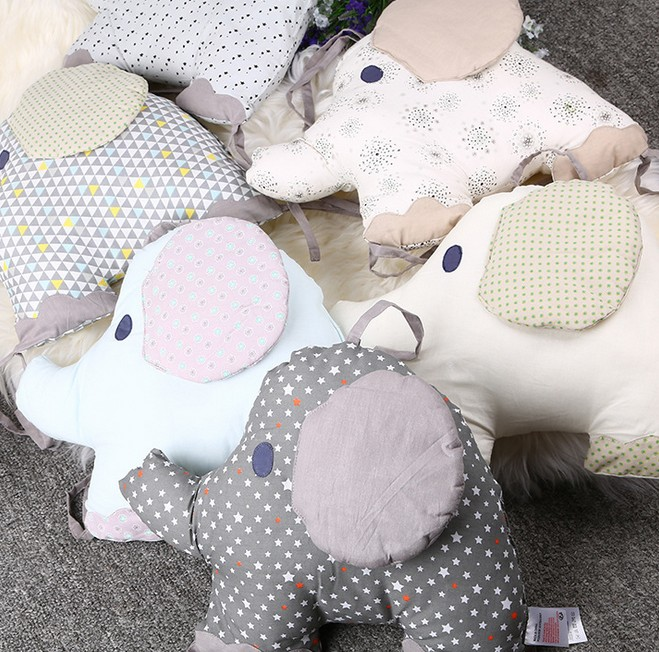 Cotton Elephant Bed Around the Creative Bed Wai Fresh Embroidery Printing Infant Bedding LD1124023<br><br>Aliexpress