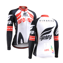 2017 Outdoor Sports Cycling Jersey Spring Summer Bike Bicycle Long Sleeves MTB Clothing Shirts Wear Womens Bike Jersey