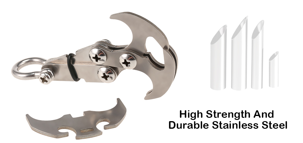 Outdoor Climbing Stainless Steel Gravity Grab