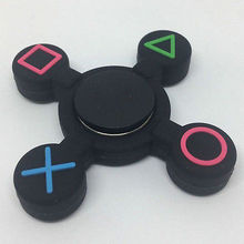 2017 HOT Fidget PS Controller Hand Spinner PlayStation Finger Focus Toy ADHD Autism Gift For Kids Adult Support Drop Shipping