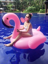 dhl free shipping inflatable Unicorn flamingo Swimming Float for Adult Tube Raft Kid Swim Ring Water Fun Pool Toy