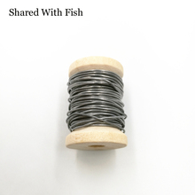 "Shared With Fish 1Pcs 0.02"" Dia X 5 meters Round Soft Lead Wire Spool for Fly Tying Fishing Material Flies Making Weight Line"