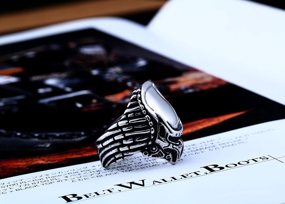 แหวนแนวๆ Code 051 แหวน Predator สแตนเลส เจ๋งมากๆ ส่งฟรี1