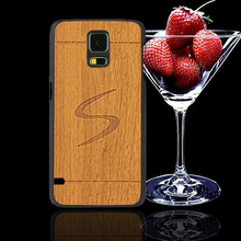 cases cover case for samsung galaxy s5 neo s 5 brand mobile phone plastic hard case for samsung s5 vintage style wood armor