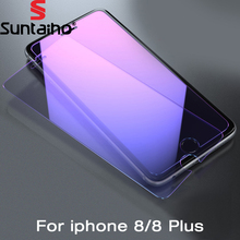 Buy Suntaiho 2pack Anti Blue Light Tempered Glass iPhone 8 plus 9H Screen Protector Anti-Scratch Glass Film iPhone 8 for $2.84 in AliExpress store