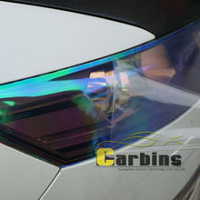 Carbins Chameleon Headlight Tint Film Fog/Tail Light Cover Sticker Vinyl Sheet Neon Color Car Foil 30*100cm(China)