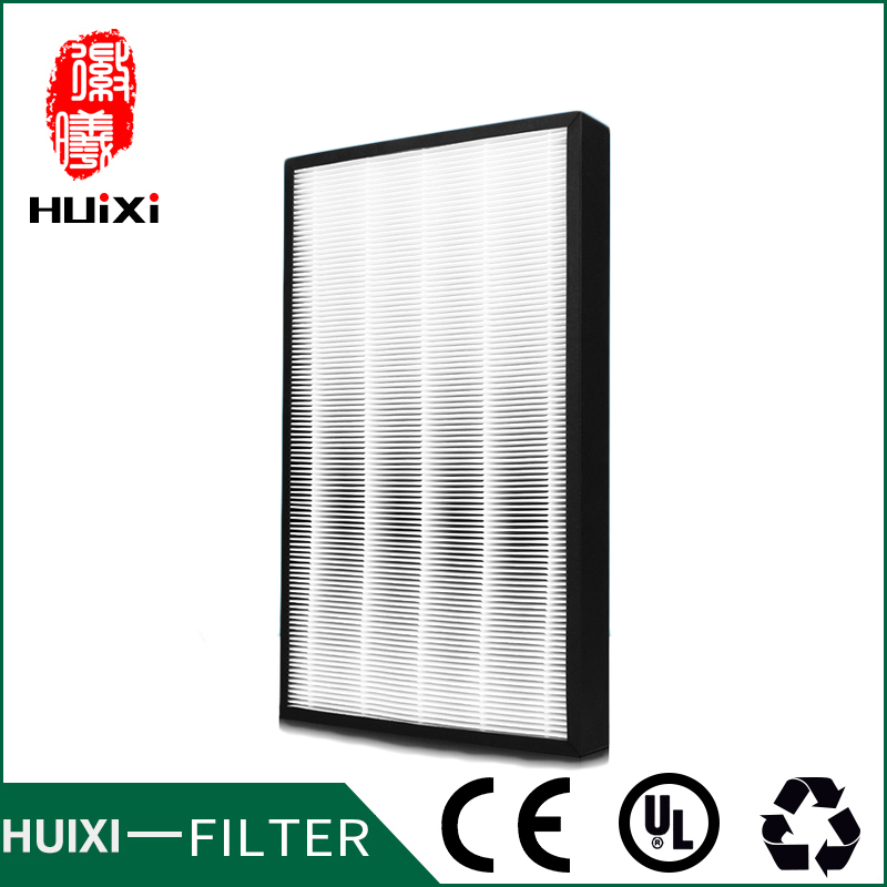 435*260*50mm high efficiency  hepa filter cleaner parts activated carbon filter composite air purifier parts for F-VXG70C-N etc<br>