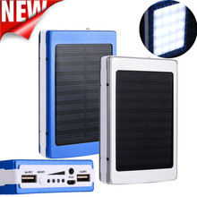 CARPRIE High Recommend 3000mAh Dual USB Portable Solar Battery Charger Power Bank For Cell Phone battery universal charger(China)