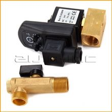 "1/2"" DC24V 2-Way Automatic Electronic Timed Drain Valve for Filter Separator Dryer Gas Tank(China)"