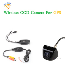 Free shipping 2.4G Wireless Transmitter and Receiver For Universal Parking Car Rear view camera Back up Reversing camera system