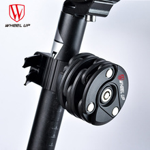 WHEEL UP 2017 New Design Cycling Folding Lock Anti Theft Chain Lock Cycling Hamburg Lock High Quality Bike Lock Parts