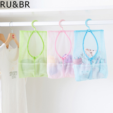 RU&BR New Arrival Cosmetic Bag Multi-function Space Saving Hanging Mesh Bags Clothes Organizer For Bedroom New cosmetic Bag