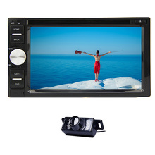 USB SD MP3 RDS Logo Music 6.2 Inch BT MP4 MP5 Radio System HeadUnit Stereo PC GPS Car DVD In Deck EQ Video 3D Map