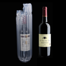 20pcs/lot Air Column Shockproof Plastic Inflation Cushion Packing Bag For Milk Powder Wine 3.5'' Hard Disk Celebration Party Bag
