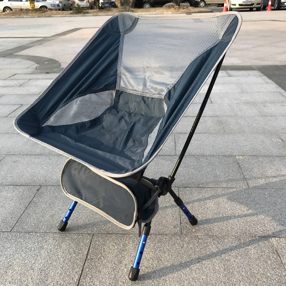 Wholesale Price Portable Aluminium Alloy Chair Outdoor Camping Chair Fishing Chair Loading 150KG<br>