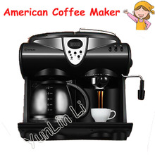 Italian/ American Coffee Maker Household 20bar Pump Pressure Coffee Machine Office Precise Thermostat Coffee Machine DL-KF7001(China)