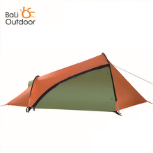 Outdoor waterproof Tents 3-4 Person Aluminum Rod Double Layer Ultralight Tent Camping Beach Tourism Tent Camping equipment