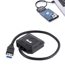 USB3.0 TO 22PIN SATA 3.0 Female 2.5inch 6Gb Hard Disk Drive HDD SSD Adapter Cable USB TO SATA Cable [Newest]