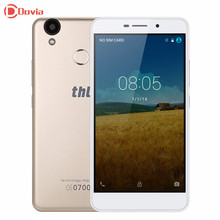 THL T9 Pro 5.5 Inch Smartphone MTK6737 2G RAM 16G ROM Quad Core Mali720 Mobile Phone 3000 mAh 4G LTE Fingerprint ID Cell Phone(China)