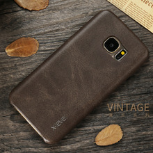 X-Level New PU Leather Phone Case For Samsung Galaxy S7 S7 edge Ultra thin Protective Back Cover For Samsung S7 S7 edge(China)