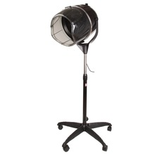 (Ship from USA) Professional Salon Styling Stand Up Bonnet Hair Dryer Hood w/ Timer Rolling(China)