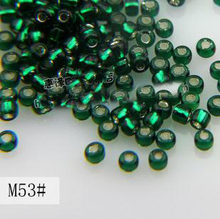 2017 New Free Shipping Miyuki Delica Seed Beads 2mm 8g/lot Wholesale(China)