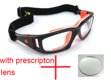 Detachable Basketball glasses with prescription lens football goggles price include myopia lens