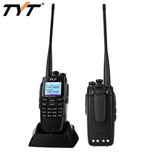 TYT DM - UVF10 DPMR Digital Transceiver 2 Way Mobile Radio 5W 256CH VOX GPS Walkie Talkies Ham Amateur WITH Ton-up Team store