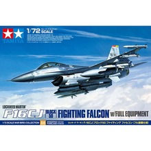 OHS Tamiya 60788 1/72 F16CJ Block 50 Fighting Falcon w/Full Equipment Lockheed Martin Assembly Airforce Model Building Kits
